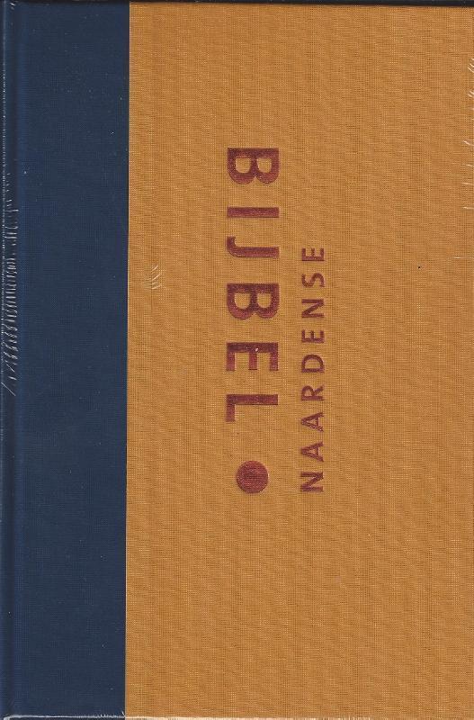 Naardense Bijbel. formaat royaal (oker, linnen), Pieter Oussoren, Hardcover  <span class=