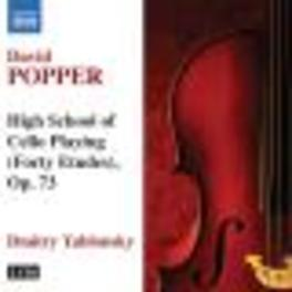 FORTY ETUDES OP.73 YABLONSKY Audio CD, POPPER, CD