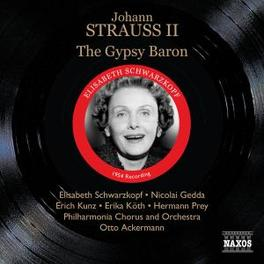 GYPSY BARON PHILHARMONIA ORCHESTRA/ACKERMANN Audio CD, STRAUSS, J. -JR-, CD