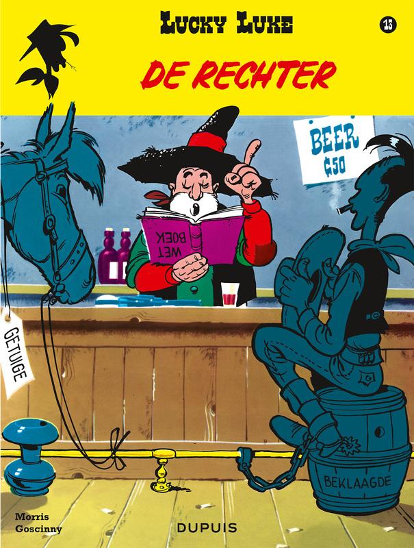 De rechter LUCKY LUKE, Goscinny, René, Paperback