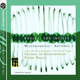 SUR INCISES/MESSAGESQUISS ENSEMBLE INTERCONTEMPORAIN/PIERRE BOULEZ Audio CD, P. BOULEZ, CD
