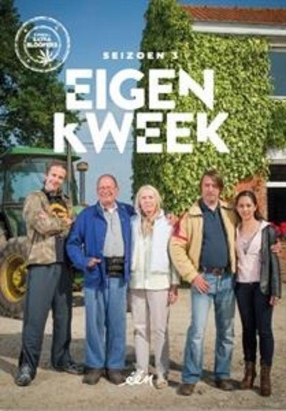 EIGEN KWEEK SEIZOEN 3 CAST: DIRK VAN DIJCK, SIEN EGGERS TV SERIES, DVD