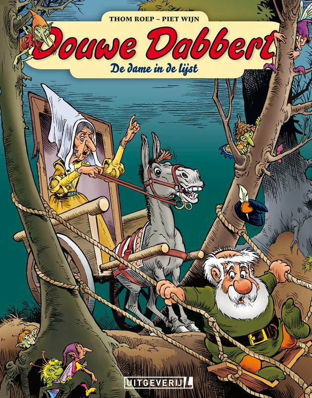 Douwe Dabbert 16 • De dame in de lijst Douwe Dabbert, Thom Roep, Paperback