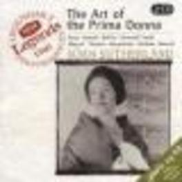 ART OF THE PRIMA DONNA W/COVENT GARDEN ROYAL OPERA HOUSE ORCH., MOLINARI-PRADE Audio CD, JOAN SUTHERLAND, CD
