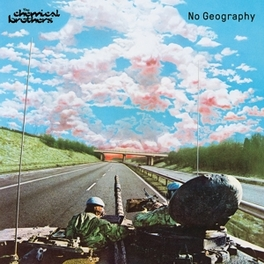 NO GEOGRAPHY -MINT PAC- INCL. 6 PAGE POSTER CHEMICAL BROTHERS, CD
