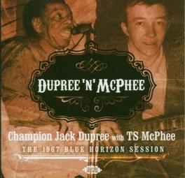 DUPREE 'N' MCPHEE 1967 SESSION Audio CD, DUPREE, JACK -CHAMPION-, CD