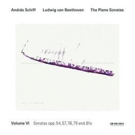 PIANO SONATAS 6 ANDRAS SCHIFF Audio CD, L. VAN BEETHOVEN, CD