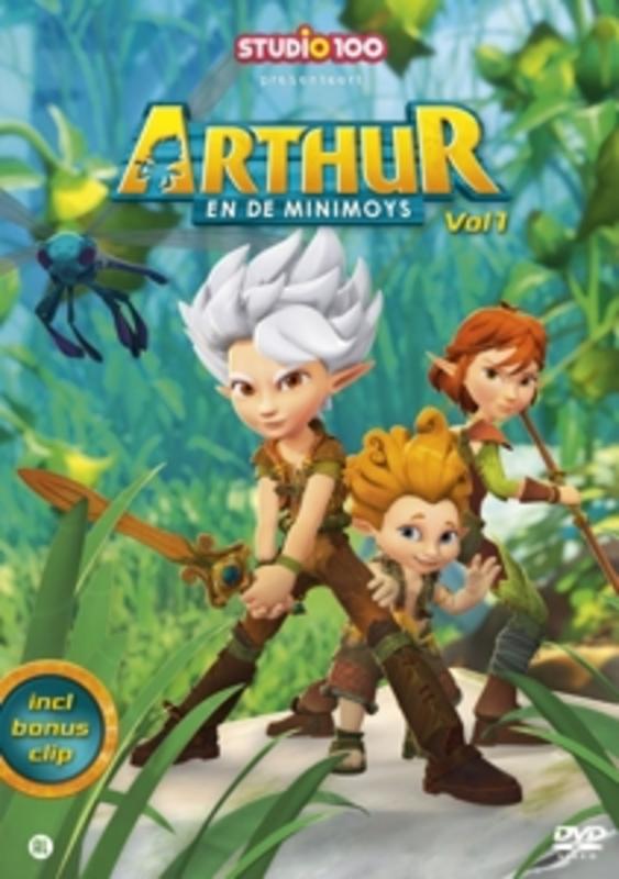 Arthur En De Minimoys - Arthur Vol. 1, (DVD) DVDNL