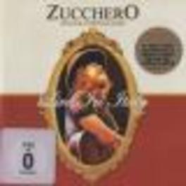 LIVE IN ITALY + DVD DVD IS PAL/ALL REGIONS Audio CD, ZUCCHERO, CD