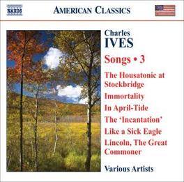 COMPLETE SONGS VOL.3 VARIOUS Audio CD, C. IVES, CD