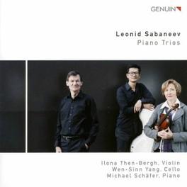 PIANO TRIOS THEN-BERGH/YANG/SCHAFER L. SABANEEV, CD