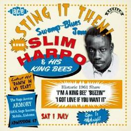 STING IT THEN! -LIVE- REC. 1 JULY 1961 Audio CD, SLIM HARPO, CD