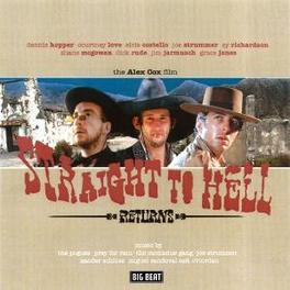 STRAIGHT TO HELL W/ JOE STRUMMER, POGUES, PRAY FOR RAIN, ZANDER SCHLOSS Audio CD, OST, CD