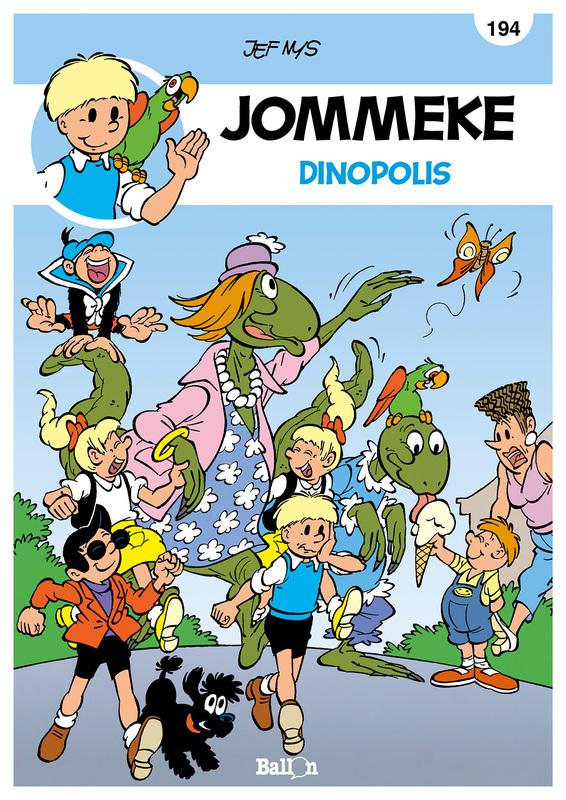 JOMMEKE 194. DINOPOLIS JOMMEKE, Nys, Jef, Paperback