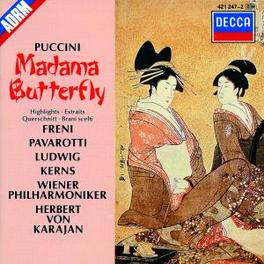 MADAME BUTTERFLY(HIGHL) LUDWIG/KERNS/SENECHAL/WP/KARAJAN Audio CD, G. PUCCINI, CD