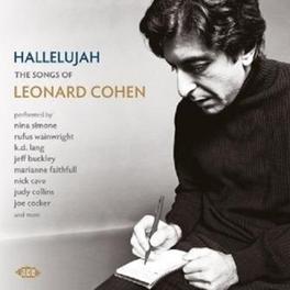 HALLELUJAH THE SONGS OF LEONARD COHEN COHEN, LEONARD.*TRIB*, CD