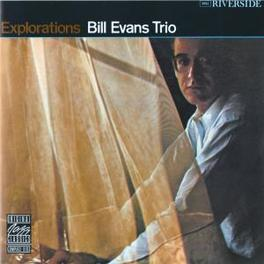 EXPLORATIONS Audio CD, EVANS, BILL -TRIO-, CD