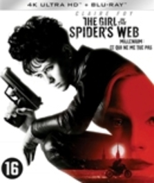 Girl in the spider's web, (Blu-Ray 4K Ultra HD) Blu-Ray