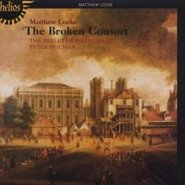 BROKEN CONSORT PARLEY OF INSTRUMENTS Audio CD, M. LOCKE, CD