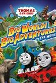 Thomas de stoomlocomotief - Grote avonturen in de grote wereld, (DVD)