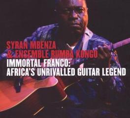 IMMORTAL FRANCO W/ENSEMBLE RUMBA KONGO Audio CD, SYRAN MBENZA, CD