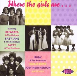WHERE THE GIRLS ARE Audio CD, V/A, CD