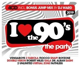 I LOVE THE '90'S 2019 V/A, CD