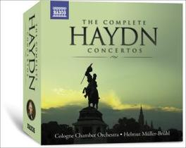 COMPLETE CONCERTOS COLOGNE CHAMBER ORCHESTRA/MULLER-BRUHL Audio CD, J. HAYDN, CD