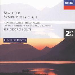 SYMPHONIES 1&2 W/HEATHER HARPER, HELEN WATTS, LONDON S.O., G.SOLTI Audio CD, G. MAHLER, CD