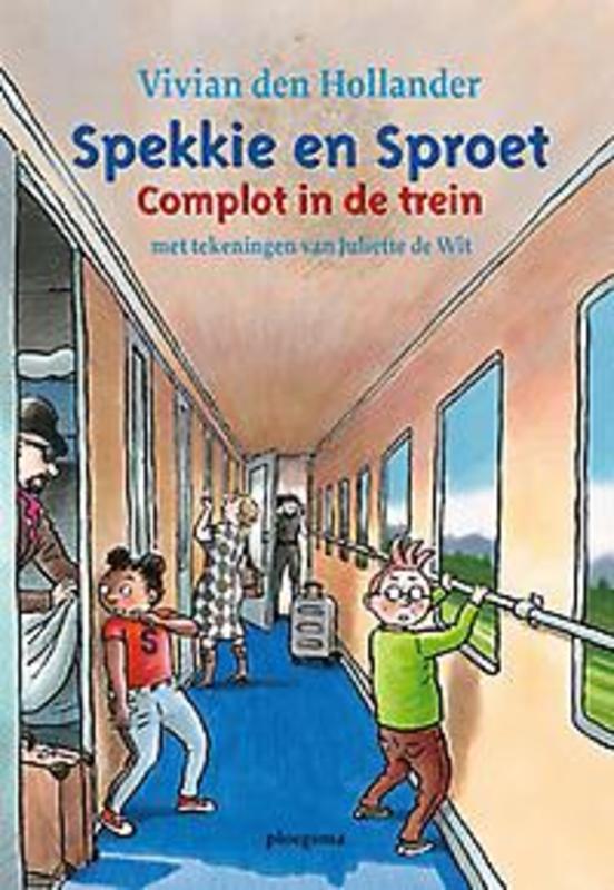 Spekkie en Sproet: Complot in de trein Vivian den Hollander, Hardcover