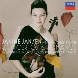 CONCERTOS & ROMANCE MENDELSSOHN & BRUCH//RICCARDO CHAILLY/GEWANDHAUSORCH. Audio CD, JANINE JANSEN, CD