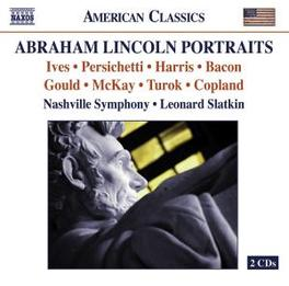 ABRAHAM LINCOLN PORTRAIT NASHVILLE SYMPHONY//WORKS BY IVES, PERISCHETTI, HARRIS Audio CD, V/A, CD