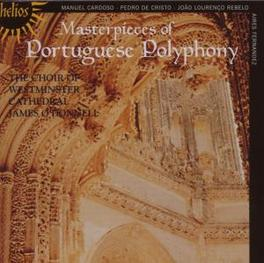 MASTERPIECES OF PORTUGUES CHOIR OF WESTMINSTER CATHEDRAL Audio CD, CARDOSO/REBELO, CD