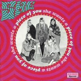 WANTS A PIECE OF YOU LATE 60'S/EARLY 70'S ALL-GIRL GARAGE BAND Audio CD, SHE, CD