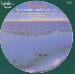 SYMPHONIES & OVERTURES SWEDISH R.S.O./ROY GOODMAN Audio CD, F. BERWALD, CD