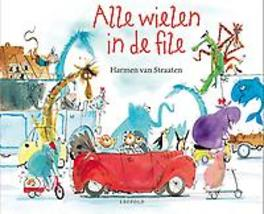 Alle wielen in de file Van Straaten, Harmen, Hardcover