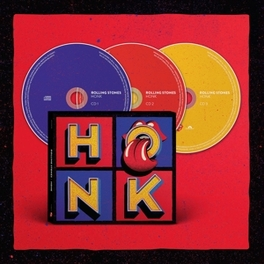 HONK -DELUXE- COMPILATION HITS & BEST ALBUMTRACKS 1971-2016 + 10 LIVE The Rolling Stones, CD
