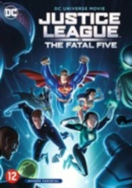 Justice league vs. The fatal five , (DVD) .. FATAL FIVE / BILINGUAL DVDNL