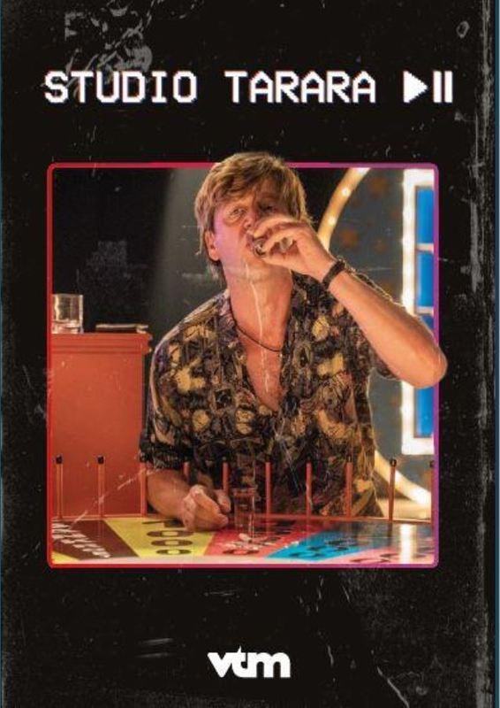 STUDIO TARARA CAST: RUTH BEECKMANS, KOEN DE GRAEVE TV SERIES, DVD