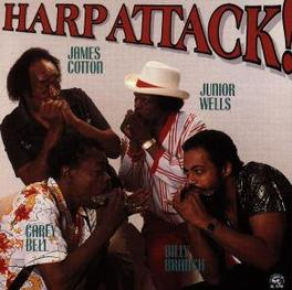 HARP ATTACK W/JAMES COTTON, JUNIOR WELLS, CAREY BELL, BILLY BRANCH Audio CD, COTTON/WELLS/BELL/BRANCH, CD