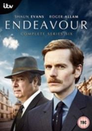 Endeavour Morse - Seizoen 6, (DVD) CAST: SHAUN EVANS, SEAN RIGBY, ANTON LESSER DVDNL