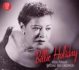 HER FINEST STUDIO.. .. RECORDINGS Audio CD, BILLIE HOLIDAY, CD