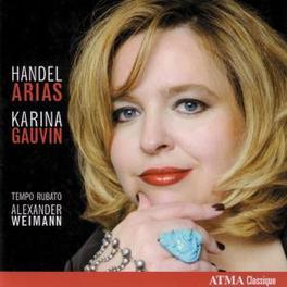 ARIAS KARINA GAUVIN Audio CD, G.F. HANDEL, CD