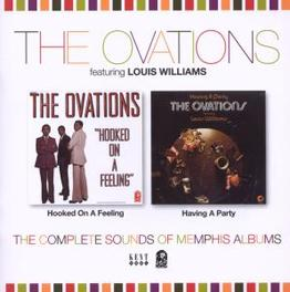 HOOKED ON A.. .. FEELING/HAVING A PARTY // FT. LOUIS WILLIAMS Audio CD, OVATIONS, CD