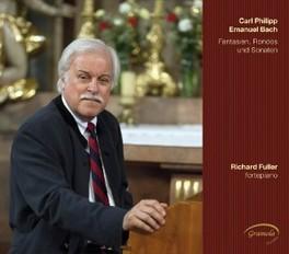 FANTASIAS, RONDOS & SONAT RICHARD FULLER C.P.E. BACH, CD