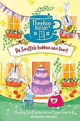 De snuffels bakken een taart