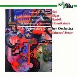 SERENADE FOR STRING ORCHE W/ARIADNA TUGAY-HARP, ST.PETERSBURG CHAMBER ORCH., SERO Audio CD, SUK/ELGAR/BARTOK/HANNIKAI, CD