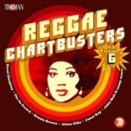 REGGAE CHARTBUSTERS VOL.6 Audio CD, V/A, CD