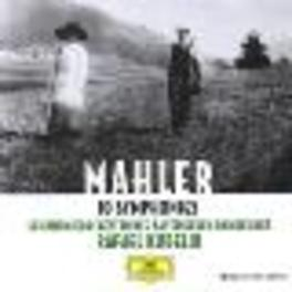 10 SYMPHONIES SOBR/KUBELIK Audio CD, G. MAHLER, CD