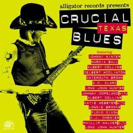 CRUCIAL TEXAS BLUES W/JOHNNY WINTER/MARCIA BALL/WC CLARK/KATIE WEBSTER/A.O. Audio CD, V/A, CD